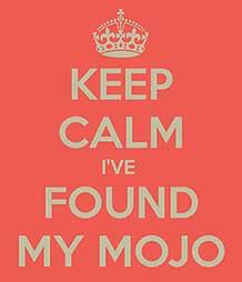 I'll have a big bowl of 'mojo' please